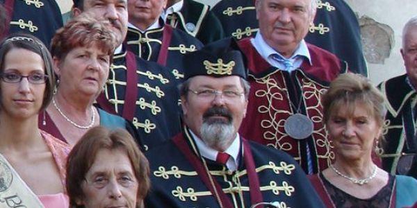 Vorák József Örökös Nagymesterünk temetése