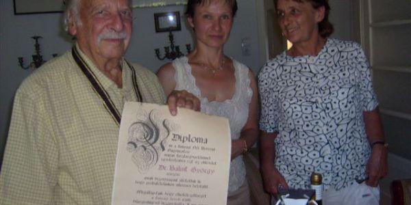 Dr. Bálint György születésnapjára