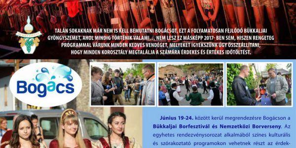 XXV. Bükkalja Borfesztivál és Nemzetköti Borverseny Bogácson