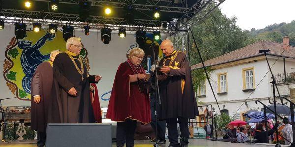 Beszámoló az Európai Borlovagok Magyarországi Rendjének október 5-i jubileumi rendezvényéről