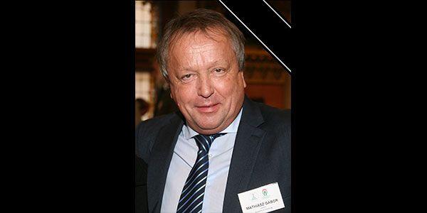 Mathiász Gábor a Mathiász János Életmű Program elnök búcsúztatója