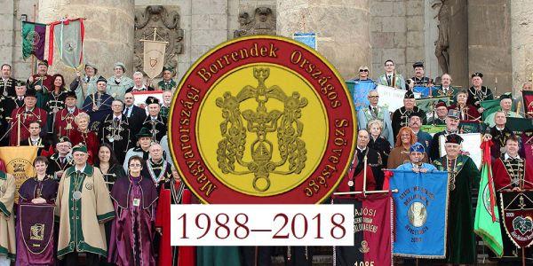 MBOSZ megalakulásának 30. évfordulójának a megünneplése