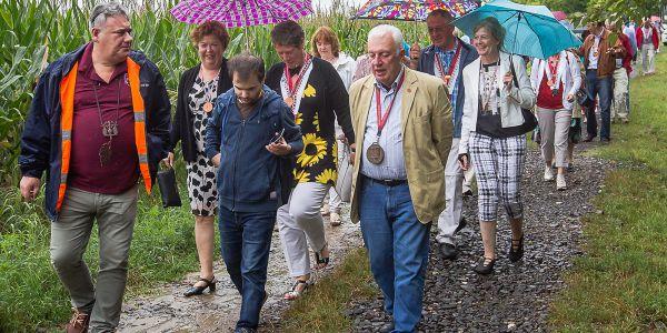 Holland Borbarátok Egyesület látogatása Balatonkenesén